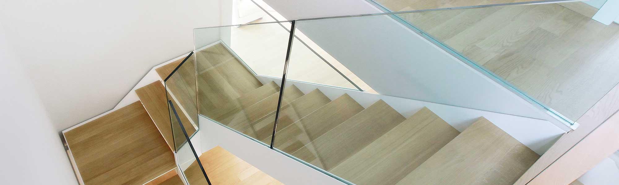 Scale interne progetto scale realizzazione scale su misura - Scale a rampa per interni ...