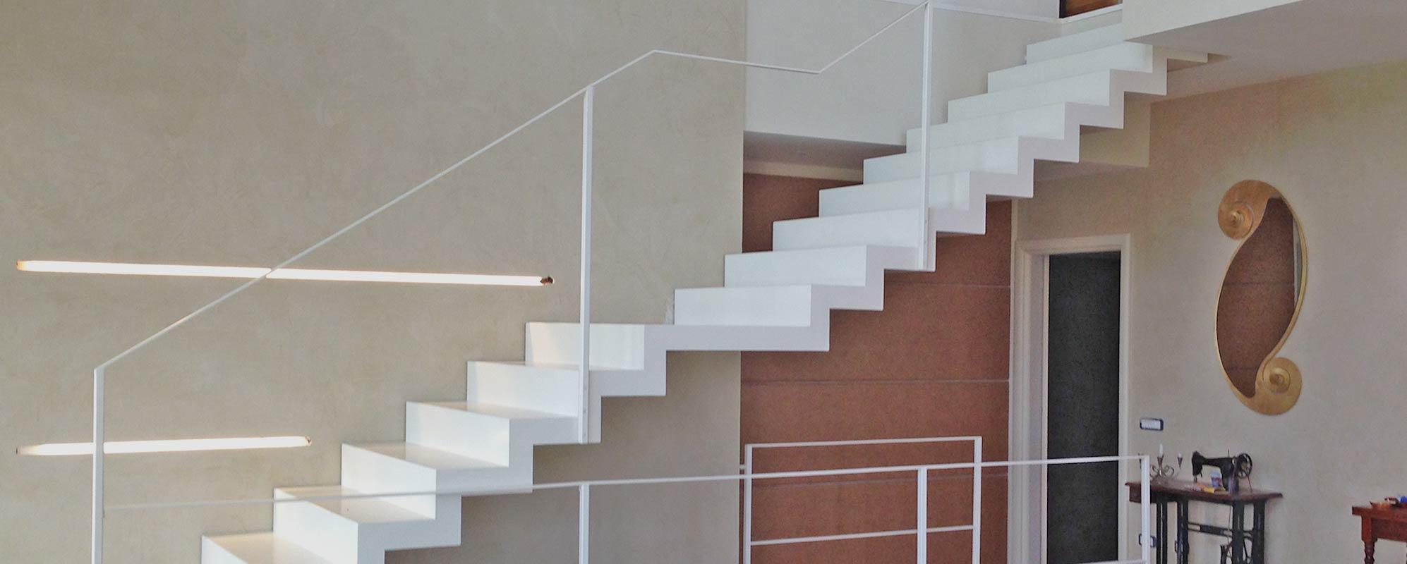 Scale interne progetto scale realizzazione scale su misura - Progetto scale interne ...