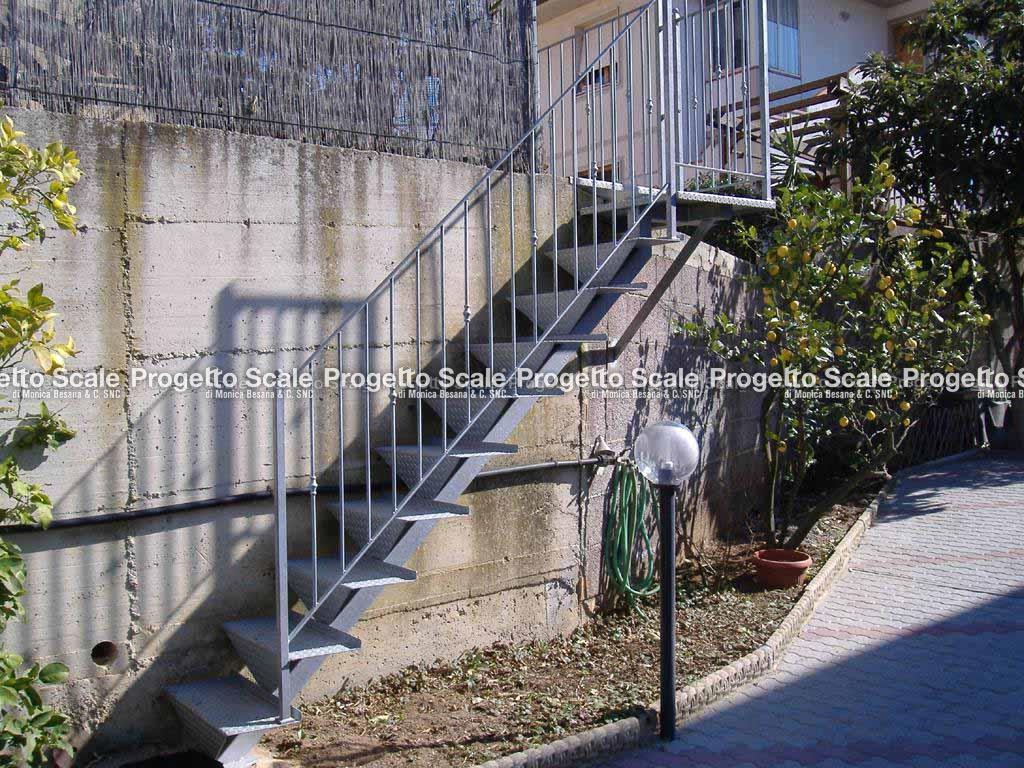 Scale a rampa per esterni scala per esterni 6 - Scala da giardino ...