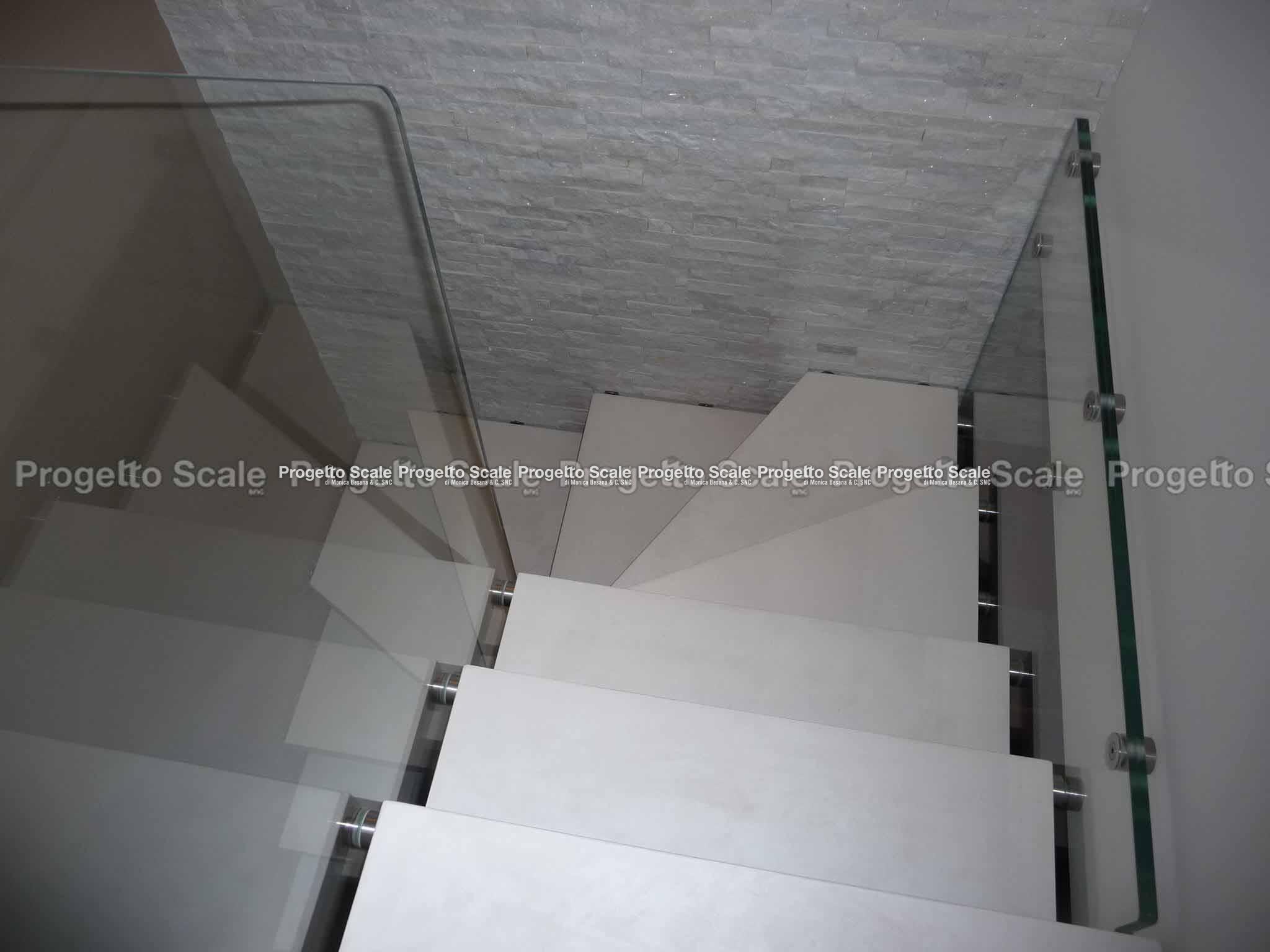 Scale a sbalzo gradini in resina scala a sbalzo gradini in resina 02 - Resina per scale ...