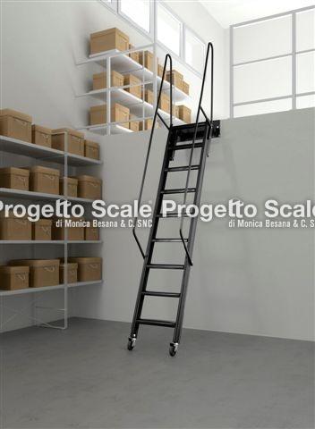 Scale soppalco scala accesso soppalco for Coprigradini per scale in legno ikea